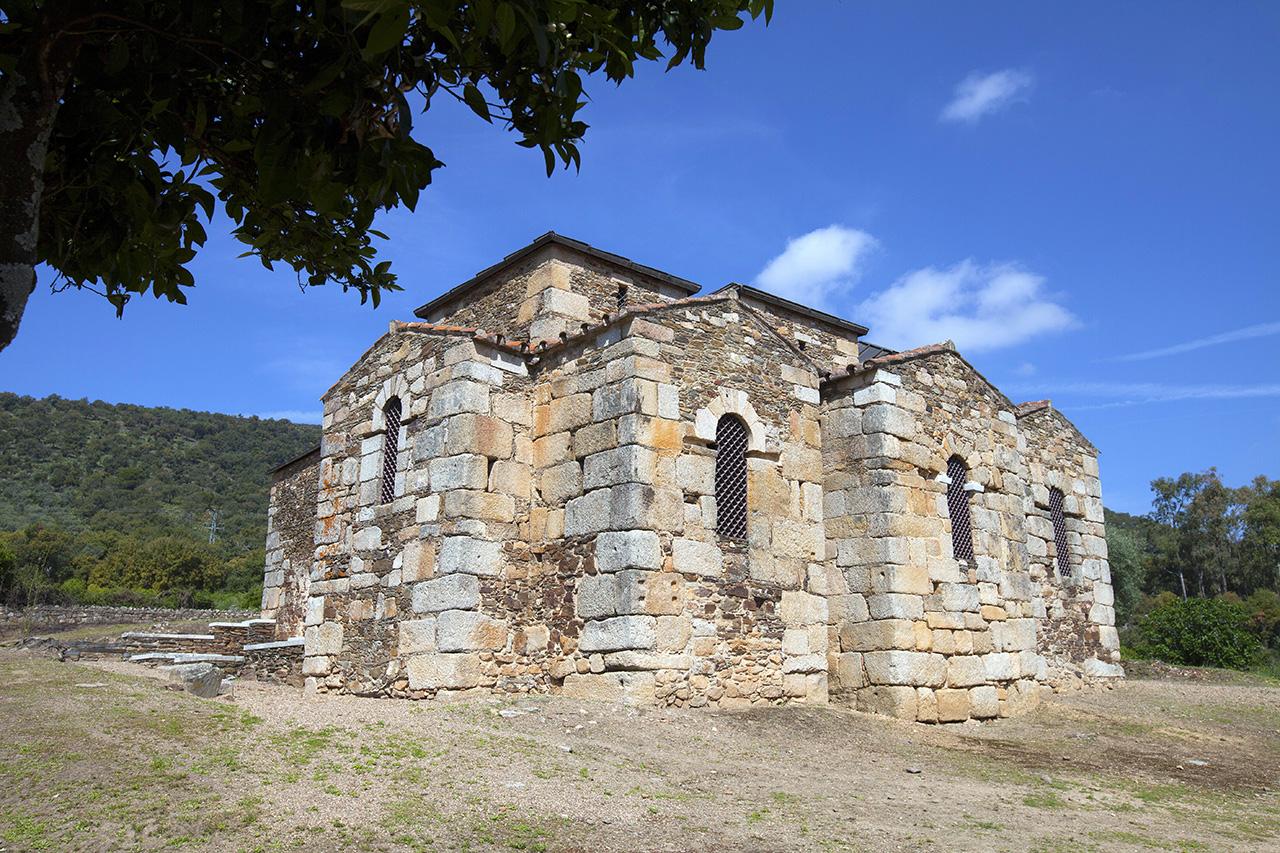 Basílica visigoda de Alcuéscar