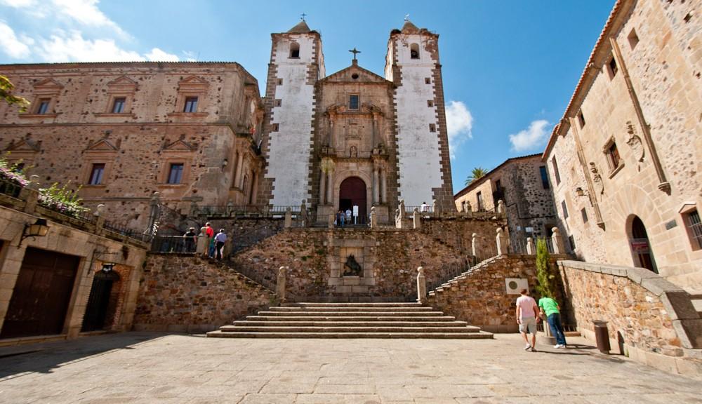 Iglesia de San Jorge en Cáceres