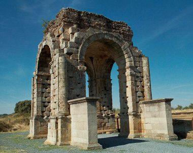 Restos romanos de Cáparra