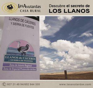 El secreto de los llanos de Cáceres