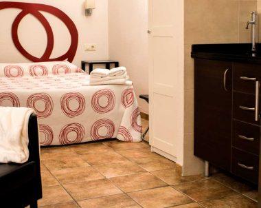 El apartamento está pensado como un espacio diáfano