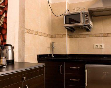 Salón - cocina, totalmente equipada