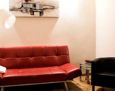 Salón de nuestro apartamento